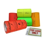 Labels are handyin just about any industry. ABL have a massive range to choose from including dangerous goods, despatch, plain fluoro, supa labels, fragile, topload, heavy and many more!