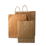 Brown Paper Retail Carry Bags