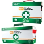 This is an image of Portable First Aid Kits available in soft or hard cases from ABL Distribution Pty Ltd