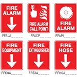 Fire / Fire Equipment Signs
