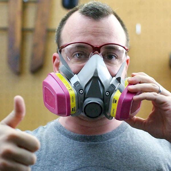 Dust Masks, Fit Testing and Respirators