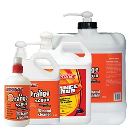 This is an image of Septone Orange Scrub Hand Cleaner from ABL Distribution