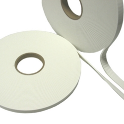 This is an image of White Hot Spot Single Sided Foam Tape from  ABL Distribution Pty Ltd