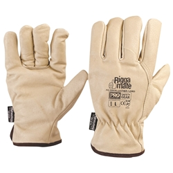 An image of Prochoice Riggamate Cowhide Riggers Gloves from ABL Distribution