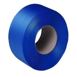 Blue 12mm Machine Polypropylene strapping