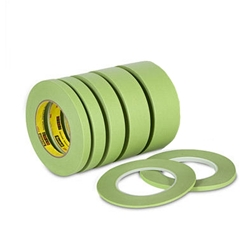 This is an image of 3M 233 High Temp Green Masking Tape from ABL Distribution Pty Ltd