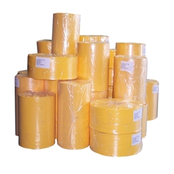 Security Yellow Opaque Poly Tubing Roll