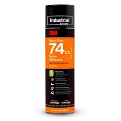 3M Spray 74 Foam Fast Spray Adhesive 489g Can