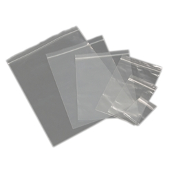 Resealable Low Density Polyethylene Bags