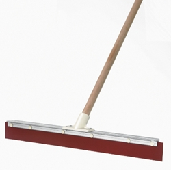 This is an image of Aluminium Back Squeegee with Handle from ABL Distribution Pty Ltd
