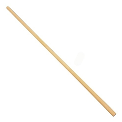 This is an image of a wooden mop handle from ABL Distribution