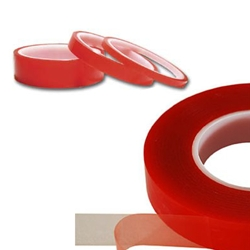 An image of B789 Polyester Double Sided Clear Tape from ABL Distribution