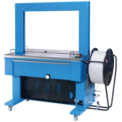 This is an image of TRS 600 Automatic Strapping Machine from ABL Distribution Pty Ltd