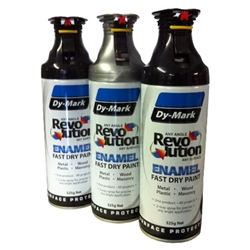 This is an image of Dy-Mark Revolution Spray Enamel from ABL Distribution Pty Ltd