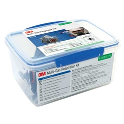 This is an image of 3M 6259 Multi Gas Respirator Starter Kit from ABL Distribution Pty Ltd