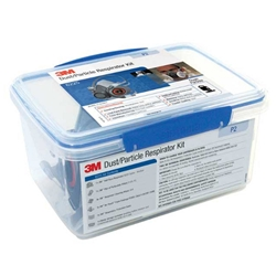This is an image of 3M 6225 Dust/Particle Respirator Kit P2 from ABL Distribution Pty Ltd
