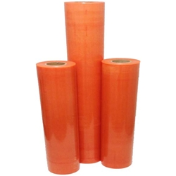 This is an image of 70um Orange High Tack Protection Film from ABL Distribution Pty Ltd