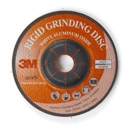 This is an image of 3m type wa rigid grinding discs for angle grinders from ABL Distribution Pty Ltd