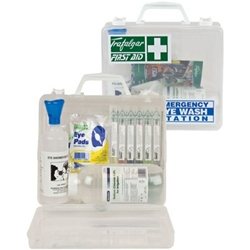 This is an image of Emergency Eye Wash Station for where there is a risk of eye injuries from ABL Distribution Pty Ltd