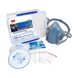 This is an image of 3M 7528 Welding Respirator Starter Kit from ABL Distribution Pty Ltd