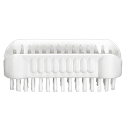 This is an image of nail bristle brush effectivety removes grime and excess debris. Get yours from ABL Distribution Pty Ltd