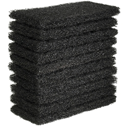 This is an image of super heavy duty scourer, scourer pad, black scourer from ABL Distribution