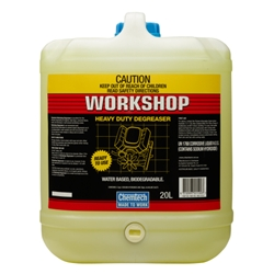This is an image of Chemtech workshop heavy duty degreaser perfect for removing oil and greaser from engines, lube bays walls and concrete floors from ABL Distribution Pty Ltd