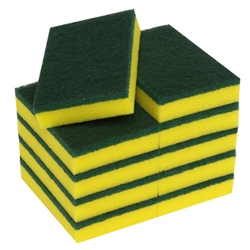This is an image of sponge, scourer, green top scourer from ABL Distribution Pty Ltd