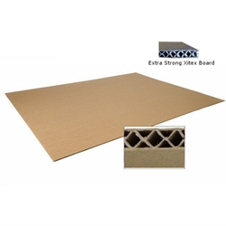 This is an image of Xitex X01 Medium / Heavy Duty Cardboard Sheets 1.5m x 3m from ABL Distribution Pty Ltd