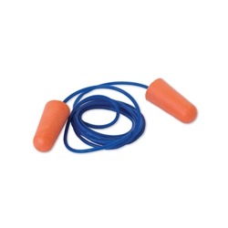 This is an image of Probullet Disposable Corded Foam Earplugs