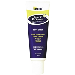 This is an image of Lanotec Type A Grease Tube from ABL Distribution Pty Ltd