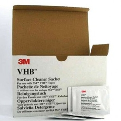 This is an image of vhb wipes, 3m wipe, chb cleaning wipe form ABL Distribution Pty Ltd