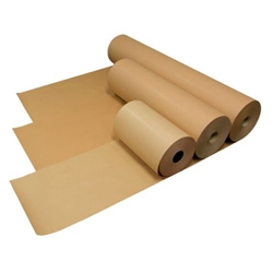 This is an image of  150mm Brown Kraft Paper Rolls