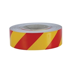 This is an image of Red/yellow Reflective Tape