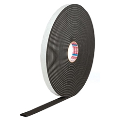 This is an image of 61104 Black Epdm Foam Tape