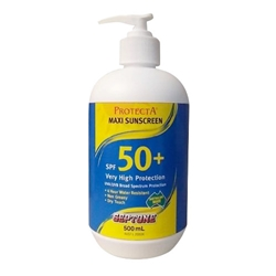 This is an image of Protecta Maxi Sunscreen 50+ from ABL Distribution Pty Ltd