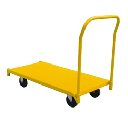 This is an image of Heavy duty platform trolley that is suitable for warehouses and pciking areas from ABL Distribution Pty Ltd