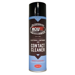 This is an image of Molytec Contact Cleaner Aerosol