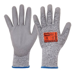This is an image of Prosense cut 5 gloves with high cut resistance cut level D from ABL Distribution Pty Ltd