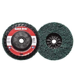 This is an image of Scotch-brite Clean And Strip Pro Extra Cut Discs