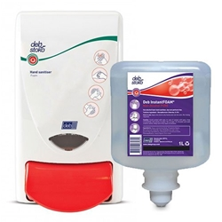 This is an image of Deb Pure Instant Foam Non Alcohol Sanitiser from ABL Distribution Pty Ltd