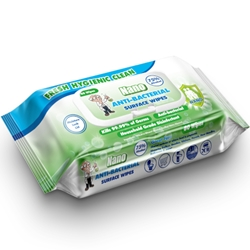 This is an image of Nano Anti-bacterial Wipes
