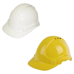 This is an image of 3M Unisafe Vented Hard Hat