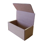 This is an image of a small carton with a tuck in lid from ABL Distribution.