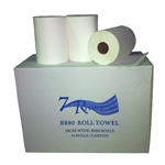This is an image of BR80 Hand Paper Towel Rolls from ABL Distribution