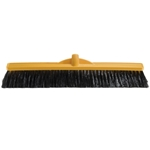 This is an image of Medium Bristle 600mm Broom Head from ABL Distribution