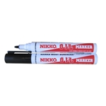 This is an image of a Nikko Fine Point Permanent Marker from ABL Distribution