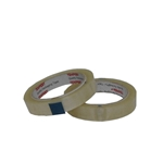 This is an image of Tempest HR 18mm Clear Stationery Tape as supplied by ABL Distribution