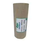This is an image of Brown Kraft Paper Rolls 450mm width from ABL Distribution