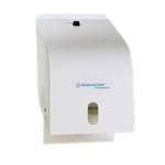 This is an image of White Enamel Paper Towel Roll Dispenser from ABL Distribution